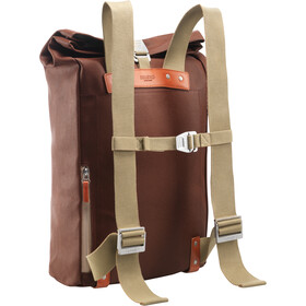 Brooks Pickwick Canvas Backpack M, bruin